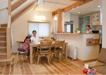 自然素材で丈夫な家づくり