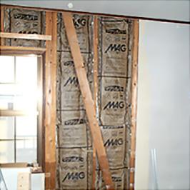壁補強の施工準備